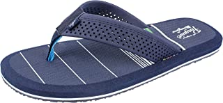 Original Penguin Mens Sandal, Flip Flop Sandal with Color Stripes, by Munsingwear,Men's Size 8 to 13