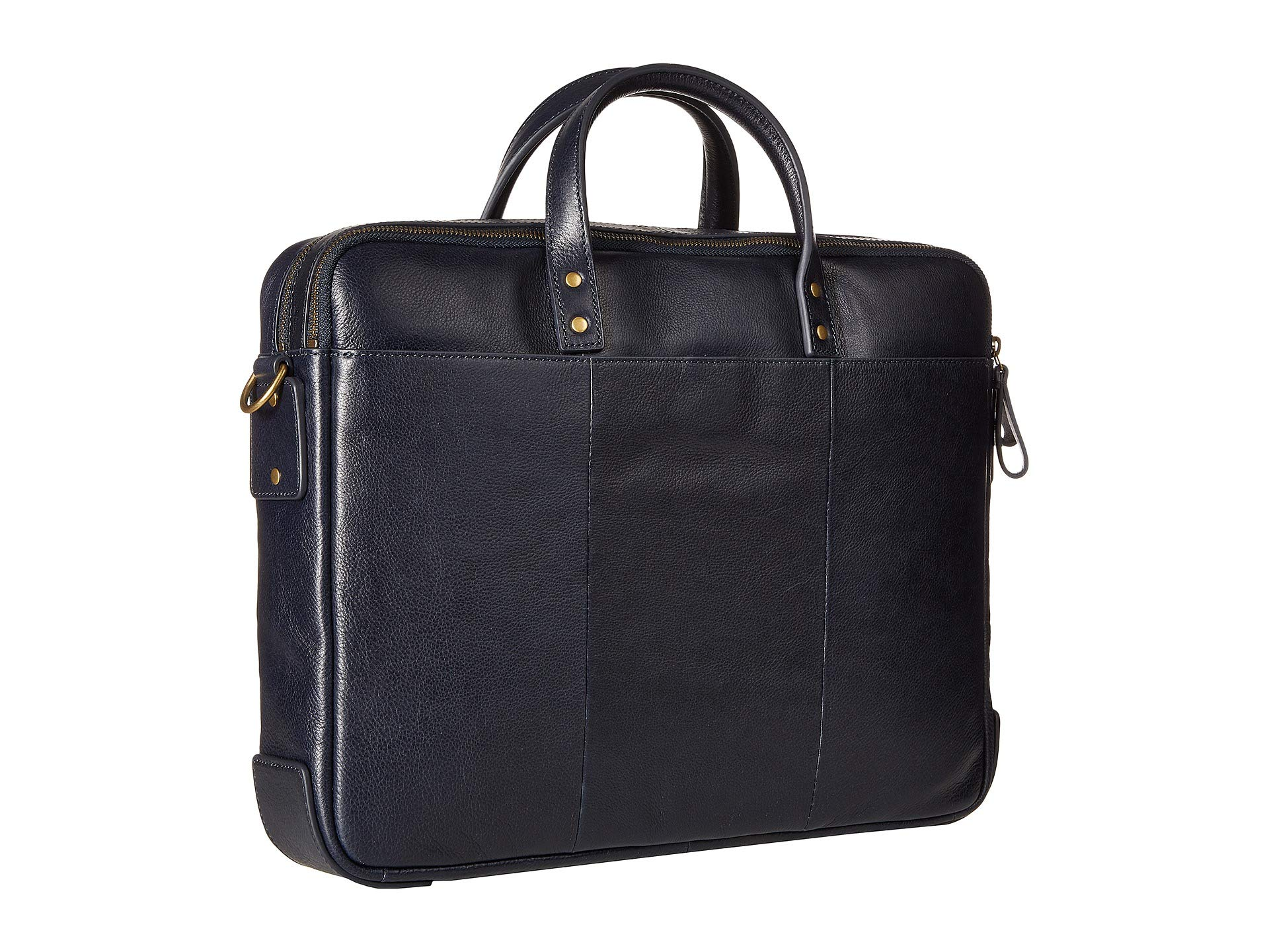 Navy Zip Double Fossil Workbag Haskell wqUxIF