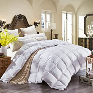 brown goose down comforter