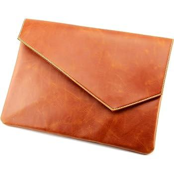 Vintage Pu Leather Clutch A4 Envelope File Bag
