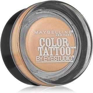 Myb Eyshdw Bare Brd Clr T Size .14 O Maybelline Eye Studio Color Tattoo 24 Hour Eye Shadow Barely Branded