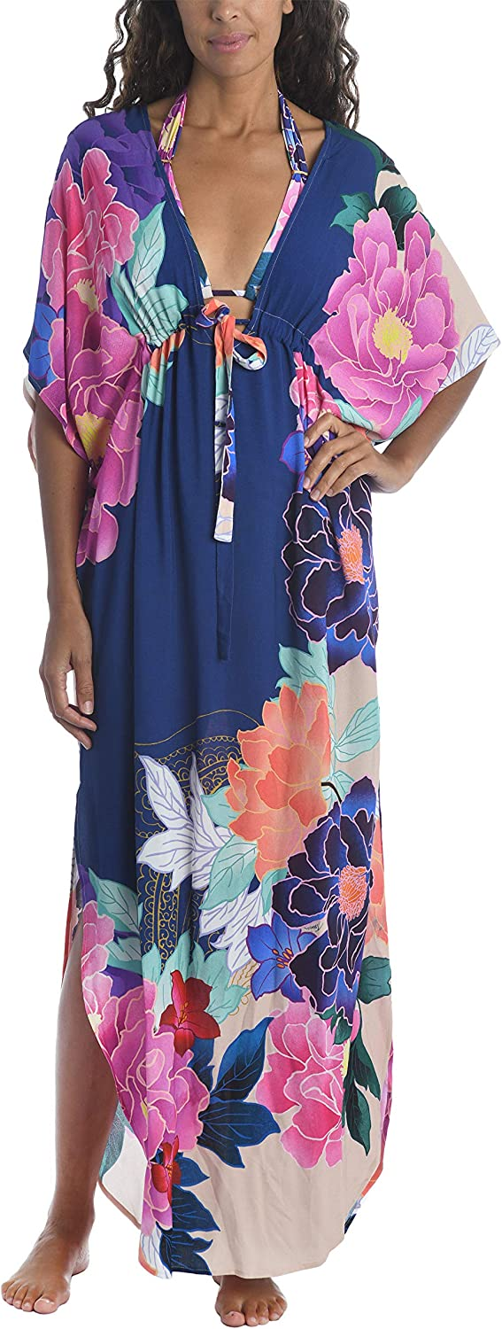 Trina Turk Women's Standard Maxi Cover Caftan Up Swimsuit Quantity limited free shipping