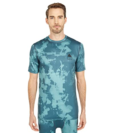 Burton Lightweight X Base Layer T-Shirt (Dark Slate Resist Dye) Men