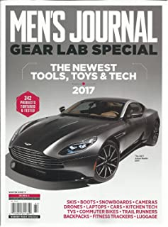 MEN'S JOURNAL GEAR LAB SPECIAL, THE NEWEST TOOLS,TOYS & TECH,2017 WINTER, 2016
