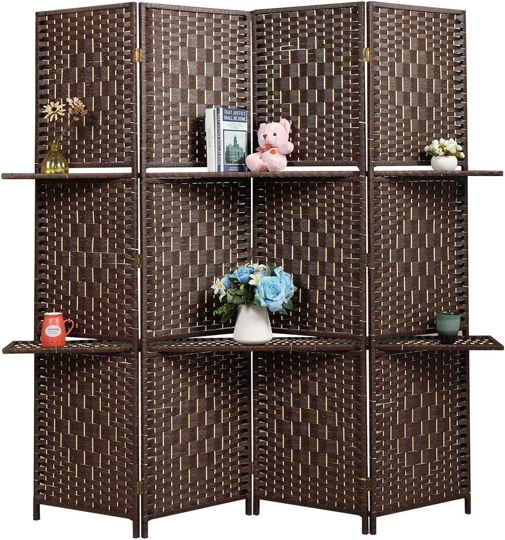 4-Panel Room Divider Screen Outstanding Portable Manufacturer direct delivery Indoor Folding