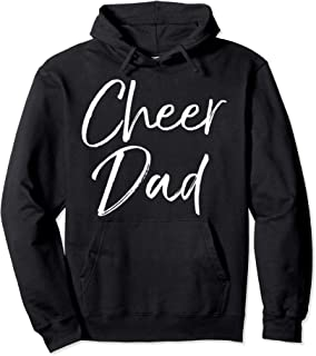 Cheerleading Father's Day Gift for Cheerleader Dad Cheer Dad Pullover Hoodie
