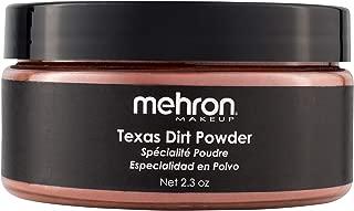 Mehron Makeup Special Effects Powder (2.3 Ounce) (Texas Dirt)
