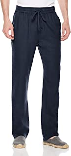 Men's Breathable Drawstring Casual Comfy Long Pants for Vacation Or Daily Wearing