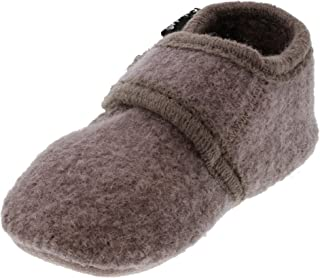 Eco Kids Wool-Soft Leather Sole Unisex Boy Girl Slippers Booties First Shoes -9 Colors- Baby-Toddler