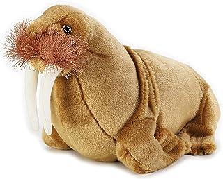"National Geographics ""WALRUS"" Stuffed Animals Plush Toy (Medium, Natural)"