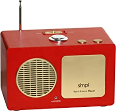Sponsored Ad - SMPL One-Touch Music Player, Audiobooks + MP3, Quality-Sound, Durable Wooden Encloser with Retro Look, 4GB ... photo