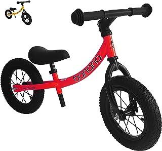Banana Bike GT - Balance Bike for Kids 2-5 Year Olds (Red New)