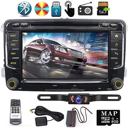 7 Inch 2 Din Car Radio For Vw Golf Passat Skoda Tiguan Elektronik