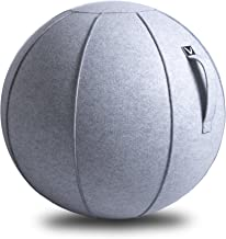 Vivora Luno - Sitting Ball Chair for Office, Dorm, and Home, Lightweight Self-Standing Ergonomic Posture Activating Exerci...