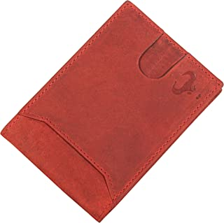 Leather Men's Wallet RFID Blocking, Front Pocket Wallet, Slim Bifold Wallet for Men, Minimalist Wallets, Sale Clearance