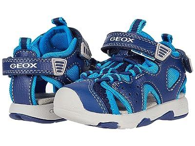 Geox Kids Sandal Multy 9 (Toddler) (Navy/Light Blue) Boy
