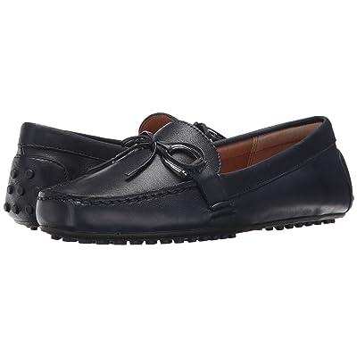LAUREN Ralph Lauren Briley Moccasin Loafer (Modern Navy Super Soft Leather) Women
