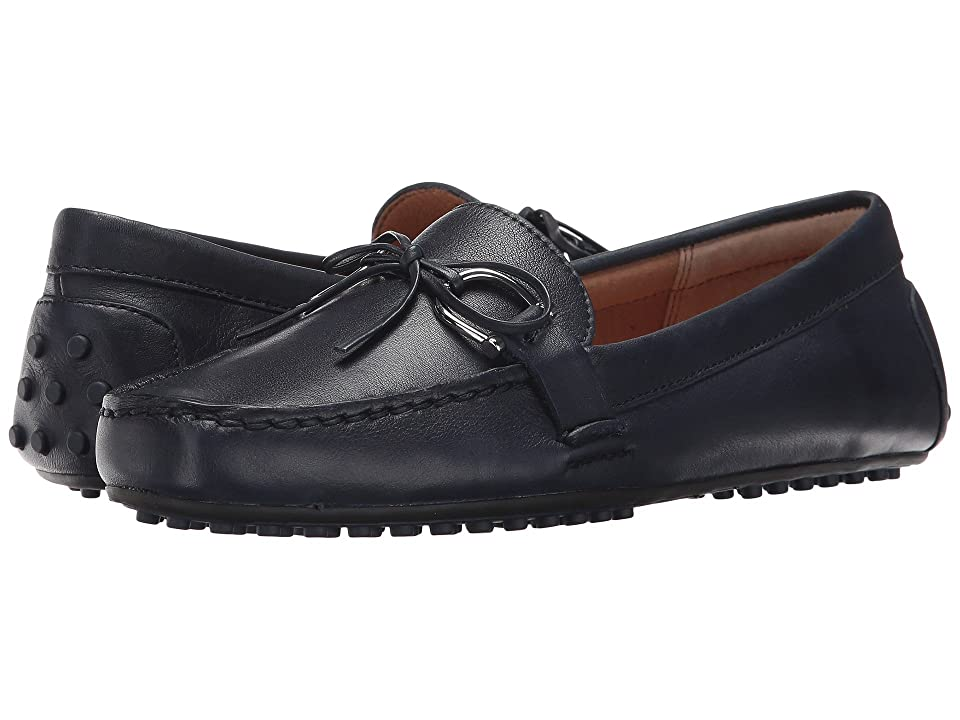 LAUREN Ralph Lauren Briley Moccasin Loafer (Modern Navy Super Soft Leather) Women