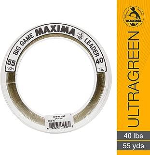 Maxima Fishing Line Big Game Leader Wheel, Ultragreen