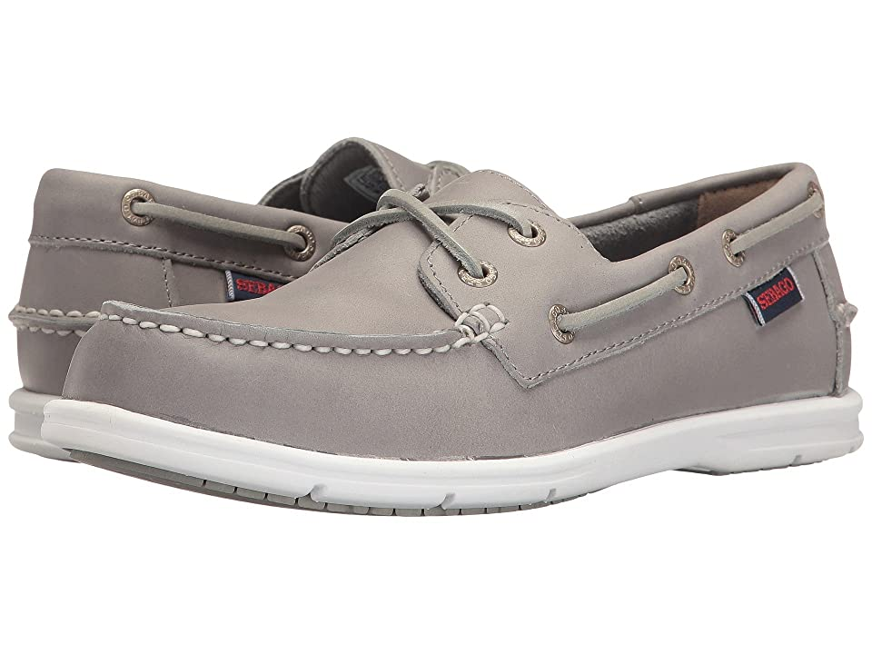Sebago Liteside Two Eye (Grey Leather) Women