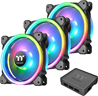 Thermaltake Riing Trio 14 LED RGB Radiator Fan TT Premium Edition (3-Fan Pack), CL-F077-PL14SW-A
