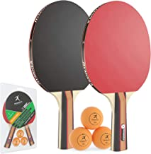 Rymora Table Tennis 2 Player Set (2 Bats and 3 Balls) (Perfect for School, Home, Sports Club, Office)