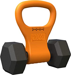 Kettle Gryp – Kettlebell Adjustable Portable Weight Grip Travel Workout Equipment..