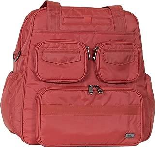 Lug Women's Puddle Jumper Overnight/Gym Bag (Infinity), Spice, Sprice Orange, One Size
