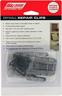 Walboard Tool 54-014 6 Count Drywall Repair Clips