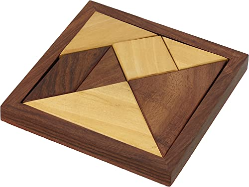 ShalinIndia Wholesale Products Company Gifts for Men and damen 100 Units of Tangram Puzzle