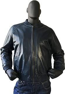 Best mens blue leather jacket Reviews