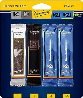 vandoren clarinet reeds comparison