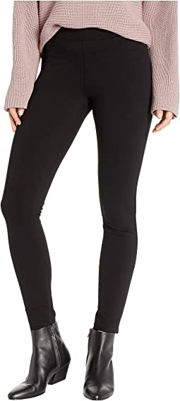 The Mercer Ponte Basic Skinny in Caviar