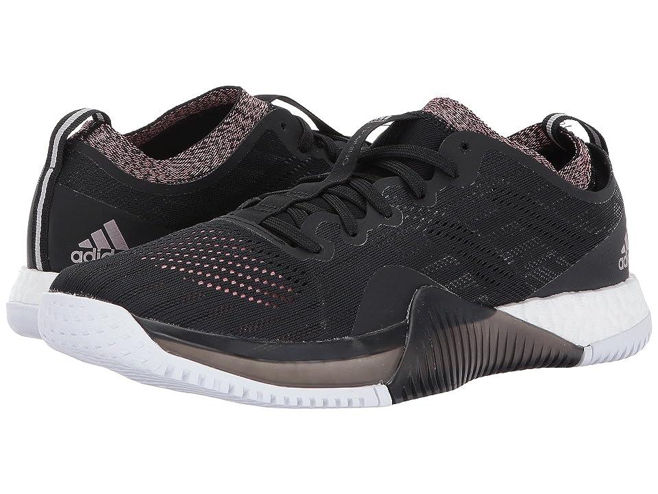 timeless design 63a02 ad39e adidas CrazyTrain Elite (Core Black Tech Silver Metallic Tactile Rose)  Women s Shoes