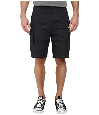 Nautica Ripstop Cargo Shorts (Off Black) Men