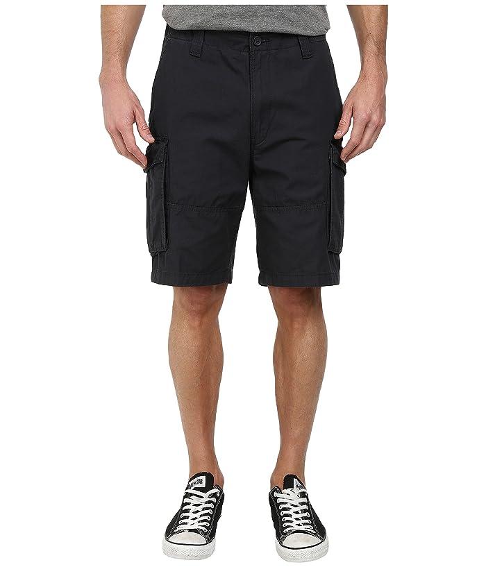 Nautica Ripstop Cargo Shorts (Off Black) Men