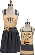 Matching Mommy and Me Mother and Child's Kitchen Apron Set - Bumblebees (2pc)