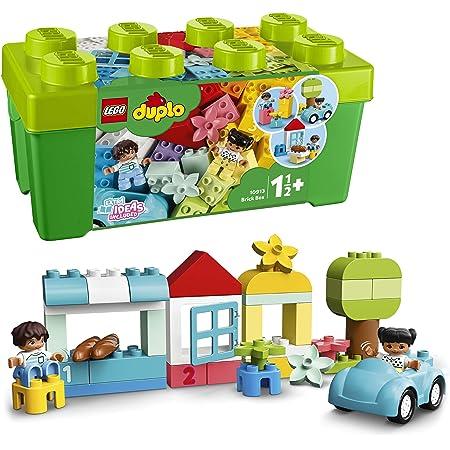 LEGO 10913 Duplo Classic La Boîte De Briques Jeu De Construction avec Rangement, Jouet éducatif pour Bébé de 1 an et Plus