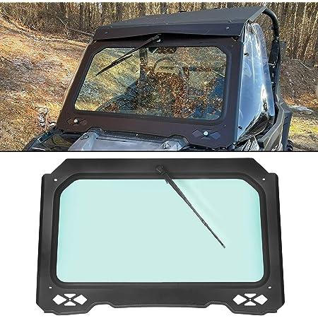 TUSK UTV Full Glass Windshield with Vent Polaris Ranger RZR 900 Trail 2015-2018 Fits