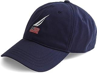 قبعة بيسبول رجالي تحمل شعار علم أمريكي نوتيكا نوتيكا 6 ألواح