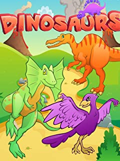 Dinosaurs - Dinosaurs Names and Sounds - Dinosaurs For Kids