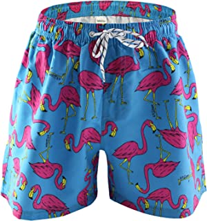 xingSL Mens Quick-Drying Beach Shorts Anime Print Side Pocket Casual Shorts