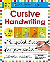 Wipe Clean Workbook: Cursive Handwriting (Wipe Clean Learning Books)