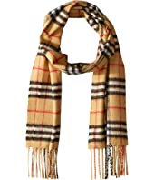Burberry Kids - Vintage Check Cashmere Scarf (Little Kids)