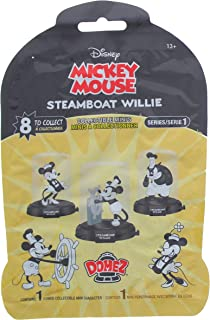 Disney Mickey Mouse Steamboat Willie Domez Collectible Minis Series 1 With 8 To Collect