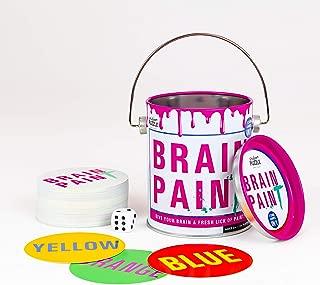 Professor Puzzle Brain Training Brain Paint - 3 Engaging & Brain stimulating Card Games