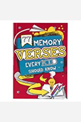 Book Softcover 77 Memory Verses Every Kid Should Know Paperback