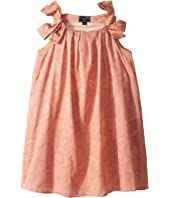 Oscar de la Renta Childrenswear - Blush Cotton Day Dress (Little Kids/Big Kids)