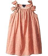 Oscar de la Renta Childrenswear - Blush Cotton Day Dress (Little Kids/Big Kids)