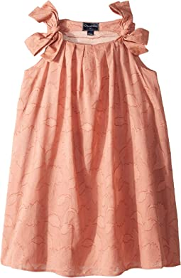 Blush Cotton Day Dress (Little Kids/Big Kids)